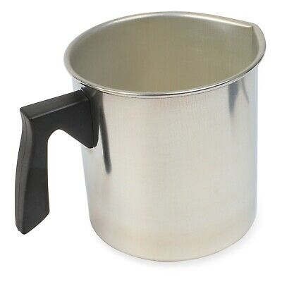 Candle Making Pot For Melting Wax & Soap - Small Aluminium Pitcher Jug • 19.99£