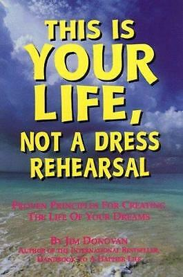 This Is Your Life, Not A Dress Rehearsal, Donovan, Used; Good Book • 2.74£