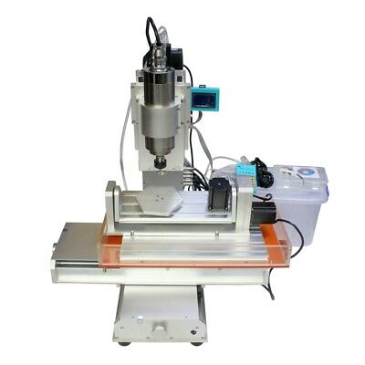 $ CDN3279.10 • Buy 5 Axis 2200W Spindle 3040 CNC Engraving Drilling Milling Machine Router Table