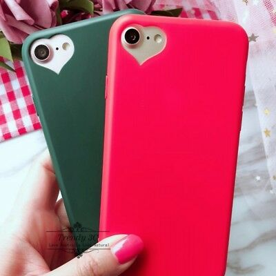 AU6.99 • Buy For OPPO A57 A39 R11s R9s Plus Jelly Soft TPU Matte Love Heart Case Cover