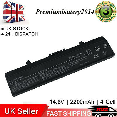 4Cell Battery For Dell Inspiron 1525 1526 1545 1546 GP952 Vostro 500 M911G GW240 • 14.99£