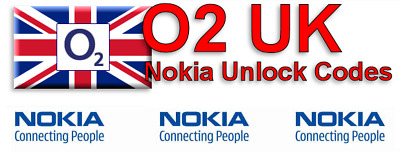 Unlock Code For O2 UK NOKIA LUMIA 925 900 810 600 510 610 710 800 820 630 • 2.48£