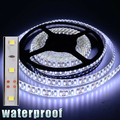 $8.47 • Buy 12V Waterproof LED Strip Light 5M 300LEDs For Boat / Truck / Car/ Suv / Rv White