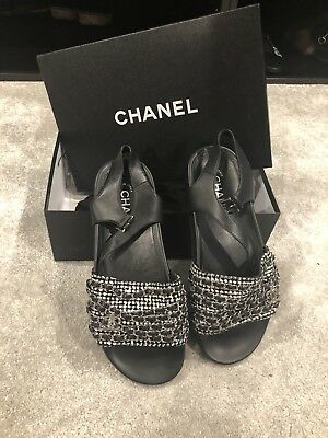 £450 • Buy Chanel Camille Sandals
