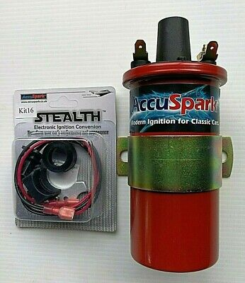 AU130 • Buy VW Beetle & Kombi Electronic Ignition Kit For Bosch JFU4 & Matching Sports Coil