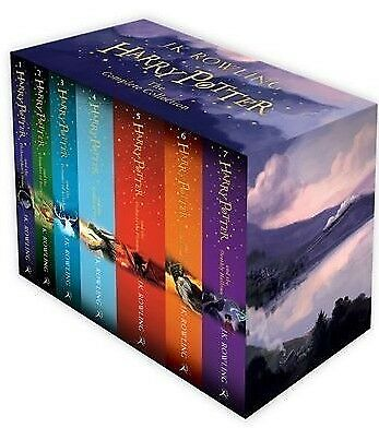 AU70.99 • Buy BRAND NEW Harry Potter 7 Books Complete Collection Boxed Gift Set By JK Rowling!