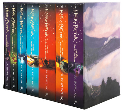 AU69.90 • Buy BRAND NEW Harry Potter 7 Books Complete Collection Boxed Gift Set By JK Rowling!