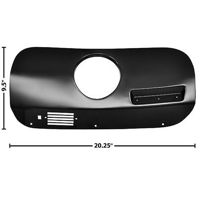 $165.90 • Buy 1969 1970 Mustang New Dash Trim Cover W/ Clock Hole Right Dynacorn - M3548EB