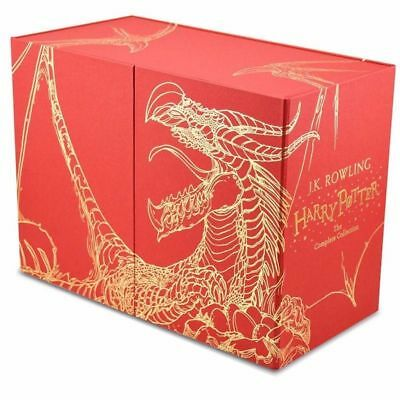 AU159.99 • Buy NEW Harry Potter 7 Books Complete Collection Hardback Gift Box Set FREE AU POST!
