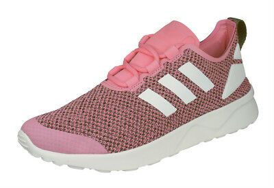 reputable site a1c66 b7202 Mujeres Adidas Originals Zapatillas Deporte ZX Flux ADV Verve Zapatos Retro  Rosa • 56.64€