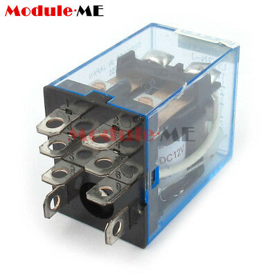 £10.29 • Buy 10PCS 12V Small Relay Omron LY2NJ DC 10A 8PIN Coil DPDT