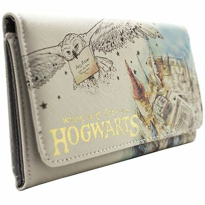 New Official Harry Potter Waiting On My Letter Hogwarts White Coin & Card Purse • 26.49£