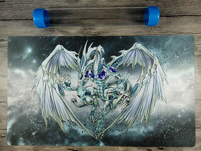 AU32.37 • Buy YuGiOh Stardust Dragon Playmat Custom TCG OCG Play Mat Free High Quality Tube