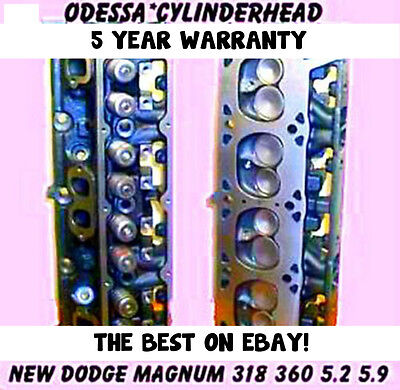 $750 • Buy New 2 Dodge Magnum  5.2 5.9 Ohv 318/360 Cylinder Heads 92-04 New Parts No Core