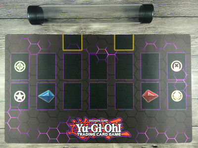 AU32.37 • Buy YuGiOh Master Rule 4 Card Link Zones Custom TCG Duel Mat Playmat  Free Best Tube