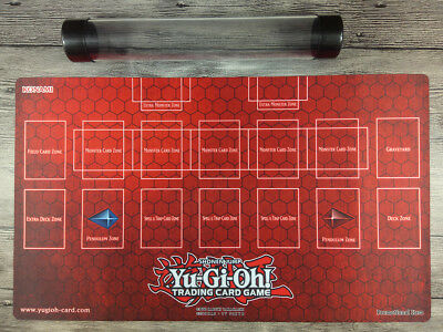 AU38 • Buy YuGiOh Master Rule 4 Link Zone Playmat Custom Trading Card Game Mat Free Tube