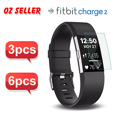 AU2.95 • Buy 3X/6X For Fitbit Charge 2 Compact TPU Hardness LCD Screen Protector Real Film