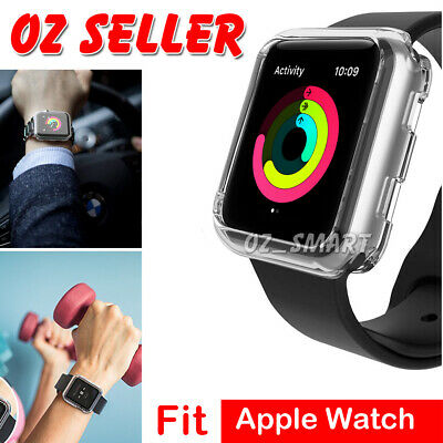 AU4.95 • Buy Apple Watch Series 6/SE/5/4/3/2/1 Silicone TPU Case Cover IWatch 38/42/40/44mm