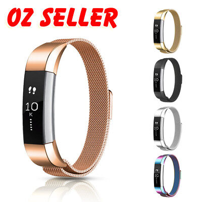 AU11.95 • Buy Fitbit Alta / Alta HR Stainless Steel Magnetic Replacement Spare Band Strap