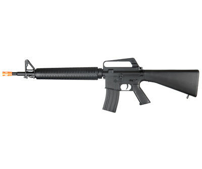 $47.95 • Buy WELL 345 FPS M16 Style Spring Action Airsoft Rifle Replica M16A1