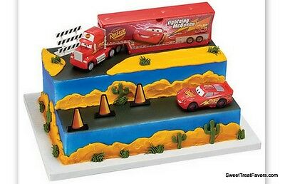 Cars 3 Build For Speed Cake Decoration Party Supplies TOPPER KIT Favor Disney NW • 15.43£