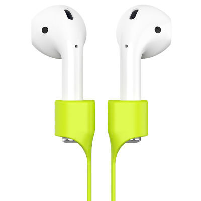 $ CDN6.58 • Buy Baseus For Apple AirPods Soft Silicone Magnetic Adsorption Wire Earphone Strap