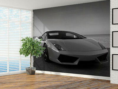 £21.99 • Buy Expensive Sports Car Black And White Photo Wallpaper Wall Mural (13716412) Sport