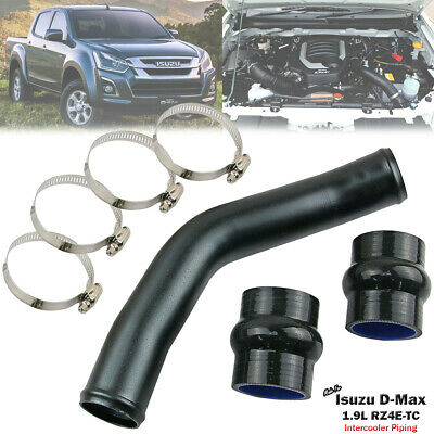 AU81 • Buy 2  Black Turbo Intercooler Piping Pipe For Isuzu D-Max RC 1.9L RZ4E 2015-ON