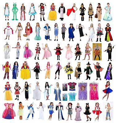 £7.50 • Buy Girl's Kids Fancy Dress Book Week Day School Day Cosplay Party Costume Outfits