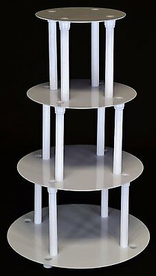 4 Tier Cake Stand Separator And Pillar Set (style 1101) • 24.29£