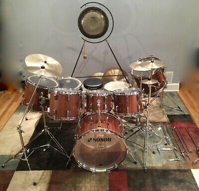 $10000 • Buy 1975 SONOR Phonic 8 Piece Drum Set W/stands. Don't Miss!