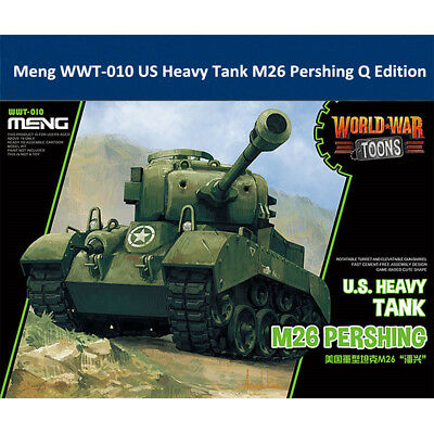 $21.99 • Buy Meng WWT-010 US Heavy Tank M26 Pershing Q Edition Plastic Assembly Model