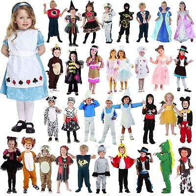 Unisex Girls/Boys Toddler Infant Fancy Dress Book Week Party Costumes Age 3-4 Y • 8.71£