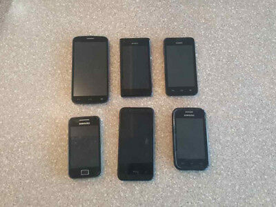 $ CDN40 • Buy Wholesale Lot Of 6 Broken Phones (Sony Samsung HTC) -- AS IS FOR PARTS & REPAIR