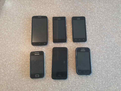 $ CDN49.98 • Buy Wholesale Lot Of 6 Broken Phones (Sony Samsung HTC) -- AS IS FOR PARTS & REPAIR
