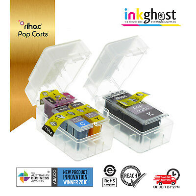 £17.43 • Buy Rihac Pop Carts For Canon PG-510 CL-511 IP2700 MP230 MP240 MP250 Smart Ink Carts