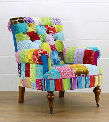 Patchwork Chair Designers Guild Fabric • 875£