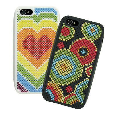 1x Cross Stitch Thread Kit IPhone 5 Cases Selection 2 Sewing Craft Tool Hobby • 18.27£