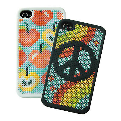 1x Cross Stitch Thread Kit IPhone 4 Cases Selection 1 Sewing Craft Tool Hobby • 18.27£