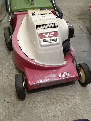 AU135 • Buy Victa Mustang Mark 3 Lawn Mower Complete With Catcher - Running