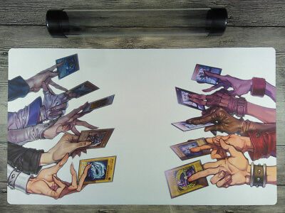 AU32.37 • Buy YuGiOh Popular Characters Duel Battlefiel Custom Playmat TCG Mat Free Best Tube