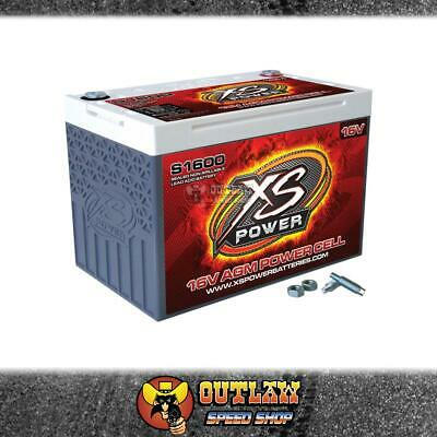 AU776.10 • Buy Xs Power S1600 16 Volt A Fits Gm Starting Battery 2,000 Max Amps, 500ca-xss1600