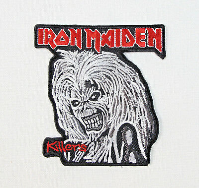 £2.45 • Buy IRON MAIDEN (L) Embroidered Iron On Sew On Patch
