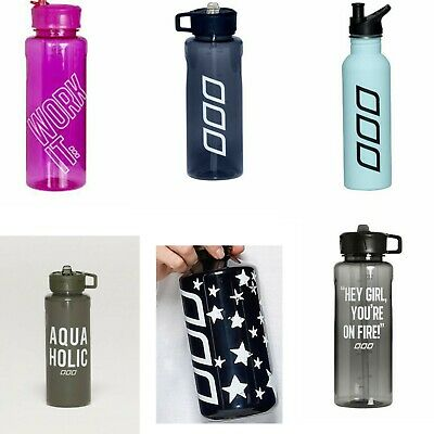 AU17.59 • Buy Genuine Lorna Jane 1L Fitness Sports Water Bottle Camping Cycling Bicycle Hiking