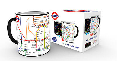 £10.87 • Buy Transport For London Underground Map Heat Changing Mug Mind The Gap Coffee Cup