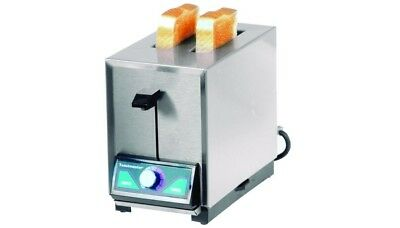 New Toastmaster Commercial Toaster Model TP224 2 Slot Toaster 208/240/60/1 • 299$