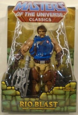 $29.99 • Buy Masters Of The Universe Classics Rio Blast Heroic Transforming Gunslinger Mailer