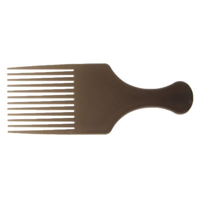 £3.07 • Buy Afro Hair Comb Hairdressing Curly Hairs Brush Pick Hairstyling Tools Coffee