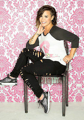 A3 SIZE - DEMI LOVATO 1 American Singer, Actress   GIFT / WALL DECOR ART POSTER • 4.49£