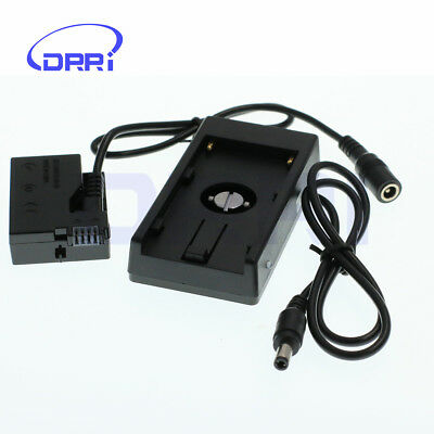 LP-E8 Dummy Battery F970 Power Supply Plate Mount For Canon 550D 600D 650D • 28£